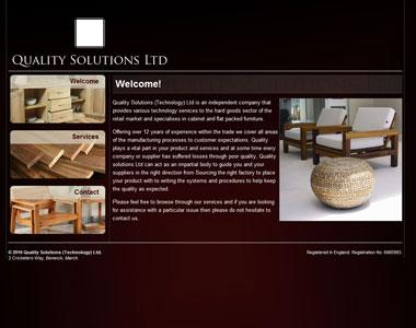 Stylish website design